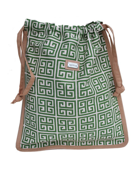 """Dynasty"" Drawstring Shoe Bag"