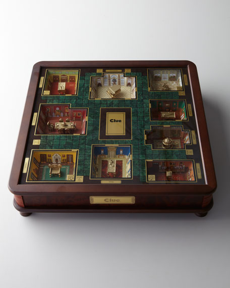 """Luxury"" Clue Board Game"