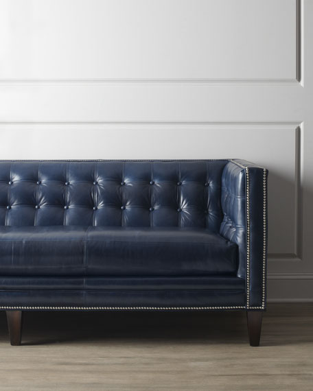 """Onetta"" Leather Sofa"