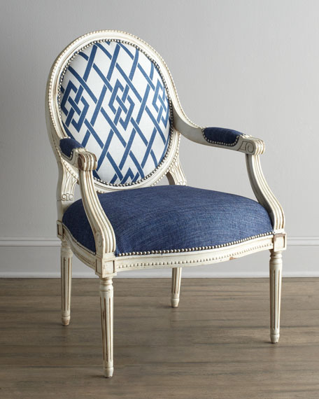 """Cobalt Trula"" Chair"