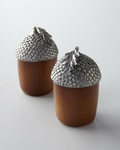 """Acorn"" Salt & Pepper Shakers"