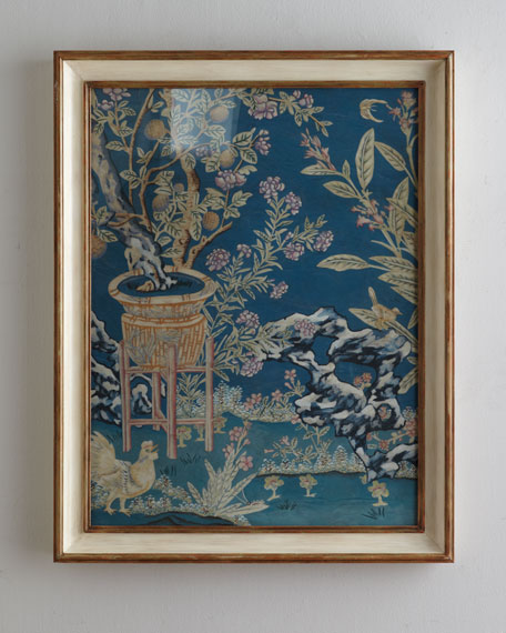 """Chinoiserie in Garden with Blue Dream"" Giclee"