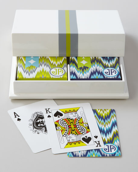 Lacquer Playing Card Set