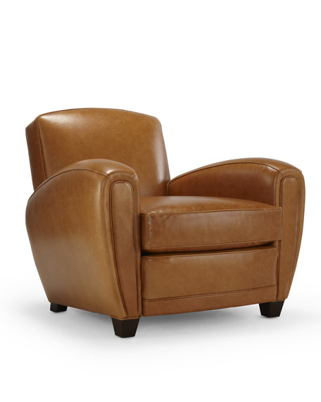 """Will's"" Leather Chair"