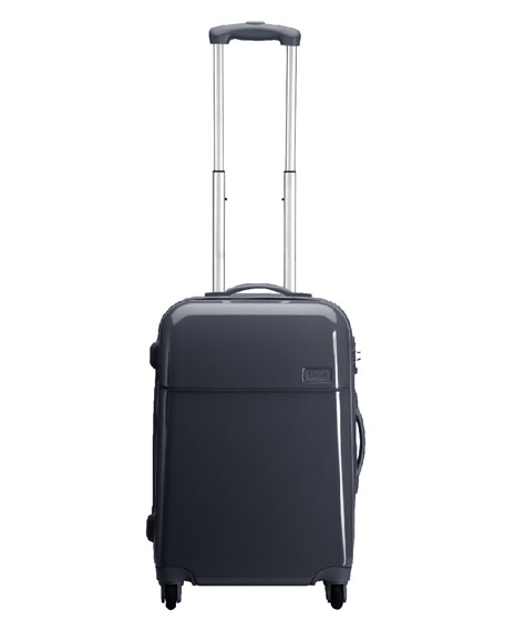 """Gray Four-Wheeled 22"""" Carry-On"""