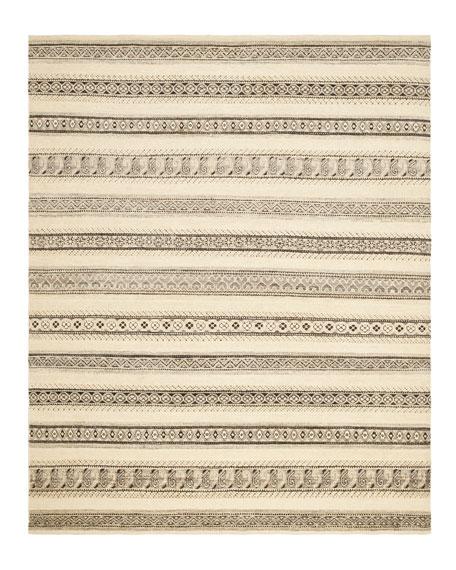 """""""Santa Fe Stripe"""" Rug, 9' x 12'"""