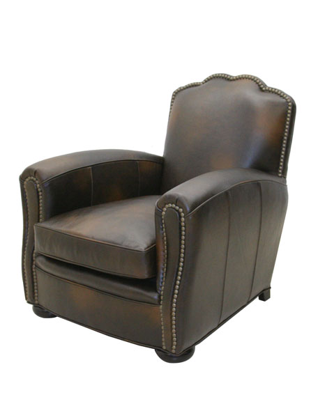 """Laramie"" Leather Chair"