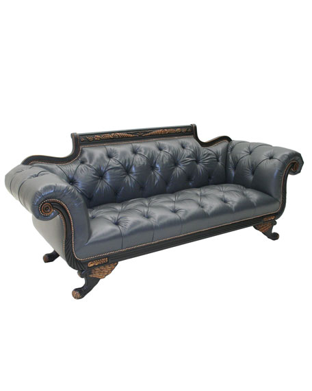 """Cordoba"" Leather Sofa"