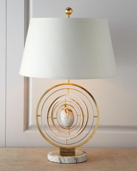 "Modern ""Armillary"" Lamp"