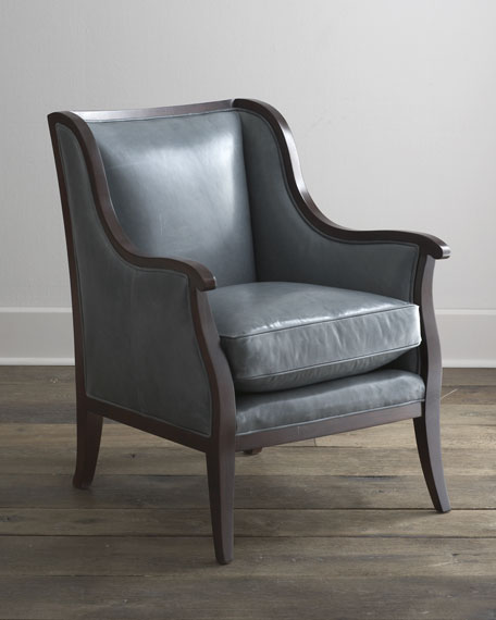 """Montbello"" Leather Chair"