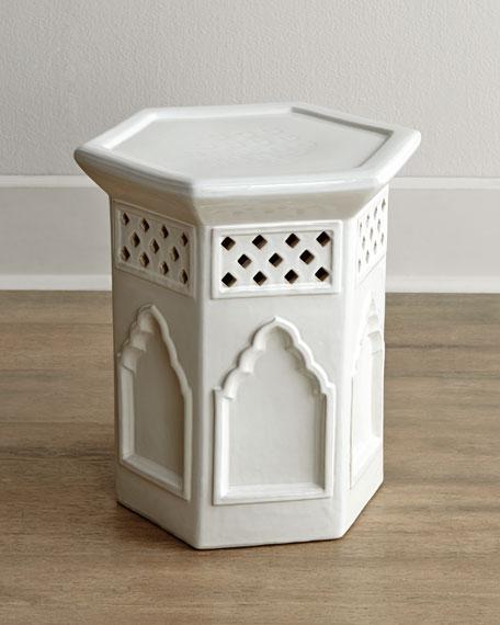 """""""Moroccan"""" Garden Stool"""