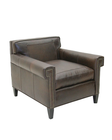 """Lambert"" Leather Chair"