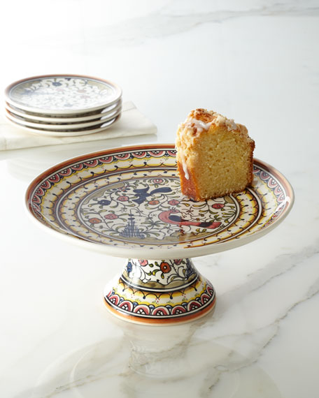 """Pavoes"" Cake Stand"