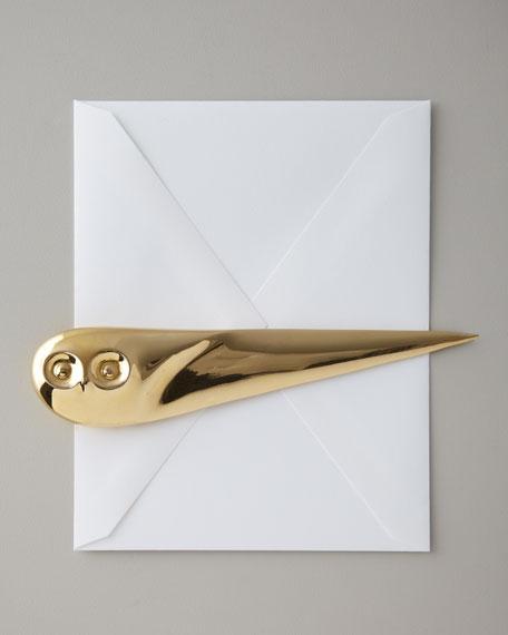 """""""Owl"""" Letter Opener"""