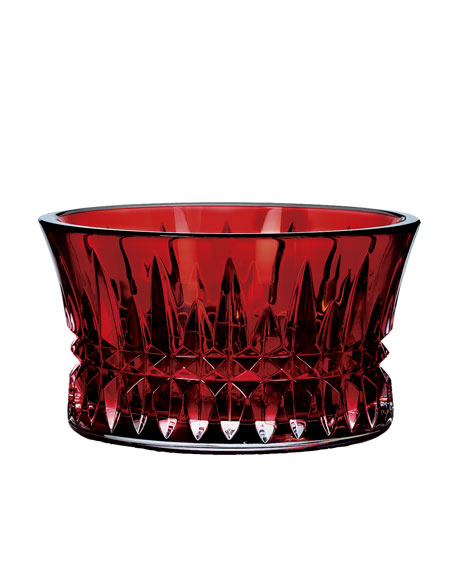 """Lismore Diamond"" Crimson Nut Bowl"