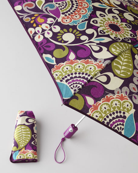 """Plum Crazy"" Umbrella"