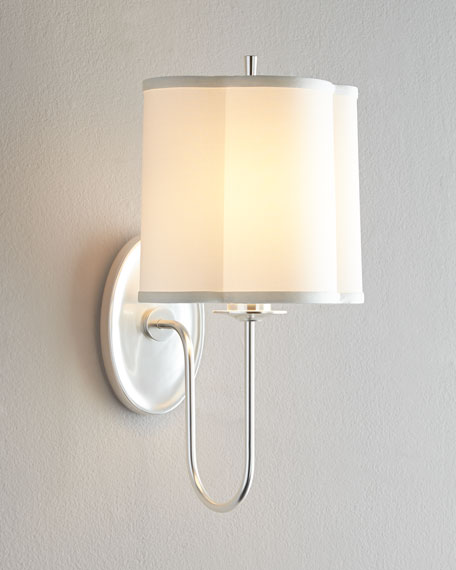 """Simple Scallop"" Sconce"