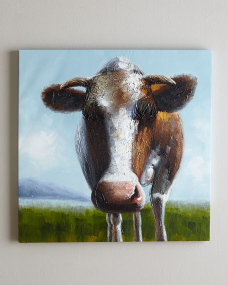 """Happy Cow"" Painting"