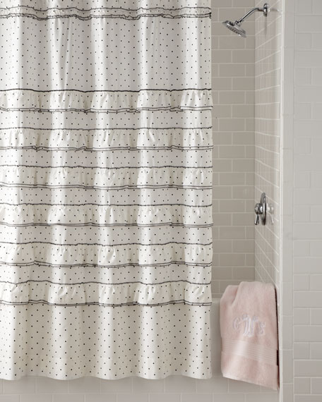 """Can Can"" Shower Curtain"