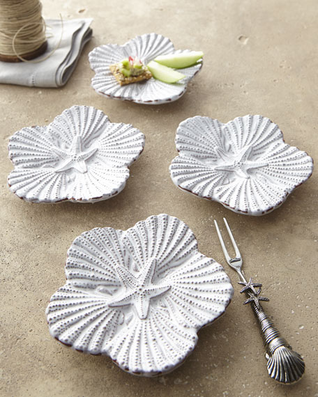 """Embossed Shell"" Tidbit Set"