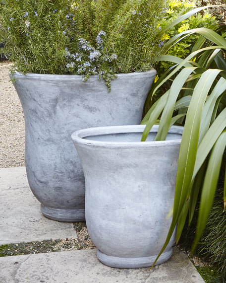 Two Oval Planters