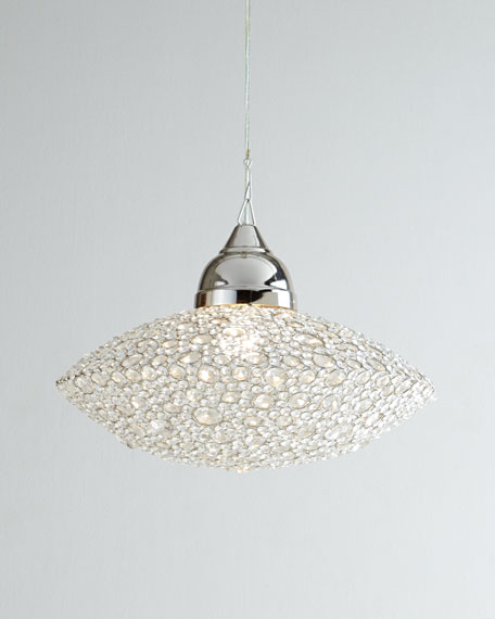 """Scattered Crystal"" Chandelier"
