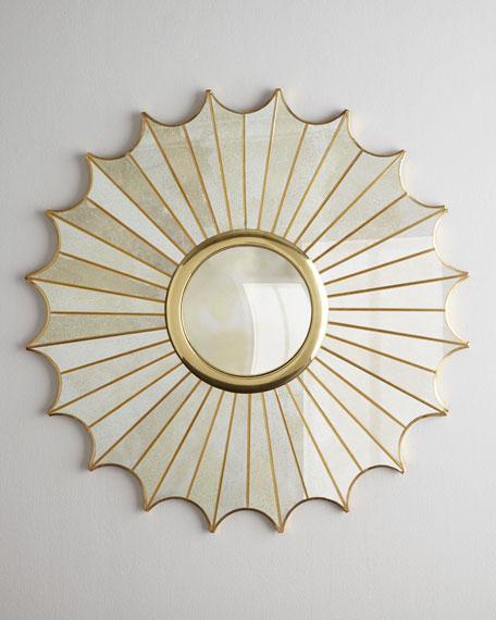 """Starburst"" Panel Mirror"