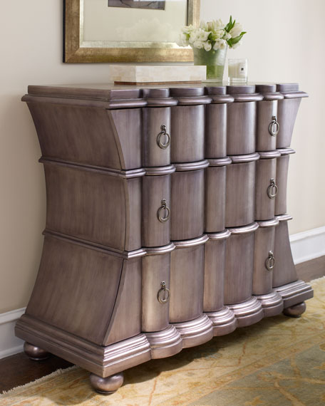 """""""Pewter"""" Chest"""
