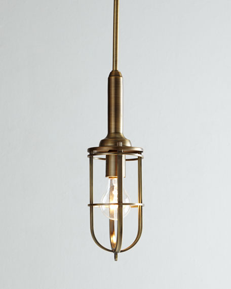 """Urban Renewal"" Cage Pendant Light"