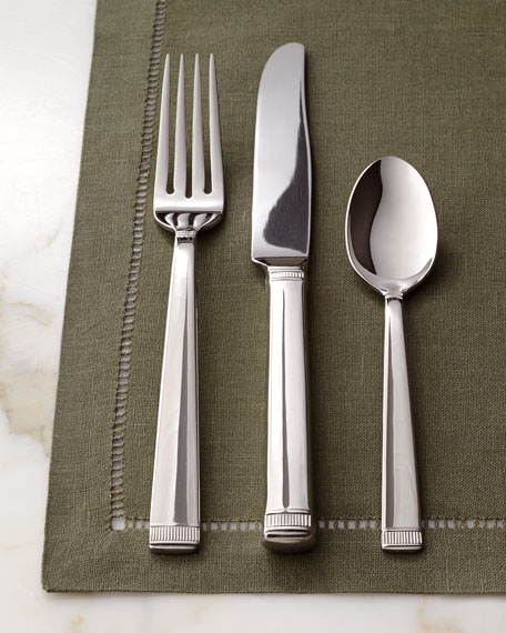 """Five-Piece """"Chime"""" Flatware Place Setting"""