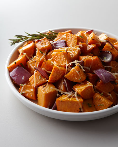 Sweet Potatoes with Caramelized Onion