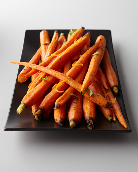Roasted Baby Carrots with Orange Sauce