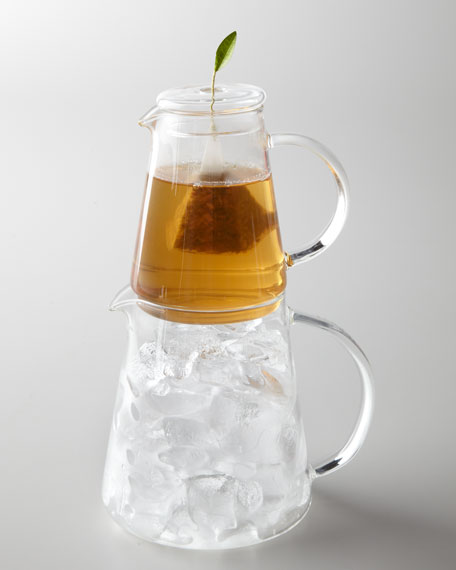 """Tea Over Ice"" Pitcher"