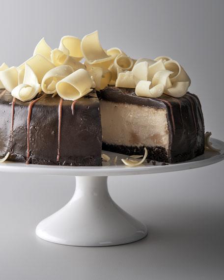 Chocolate-Covered Strawberry Cheesecake