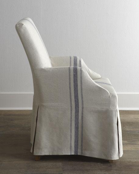 """Westcreek"" Corseted Armchair"