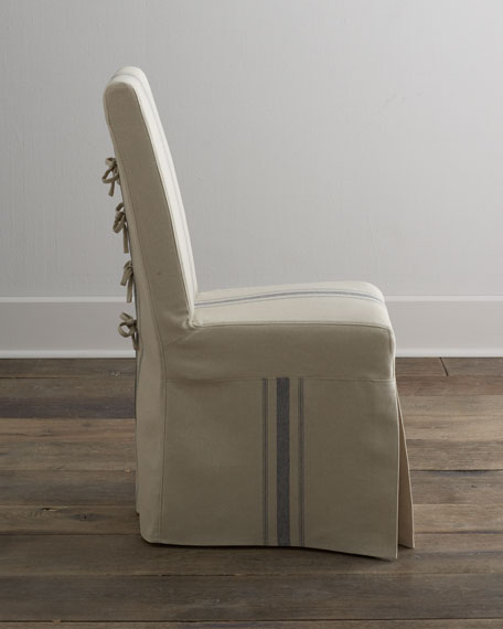 """Two """"Westcreek"""" Corseted Side Chairs"""