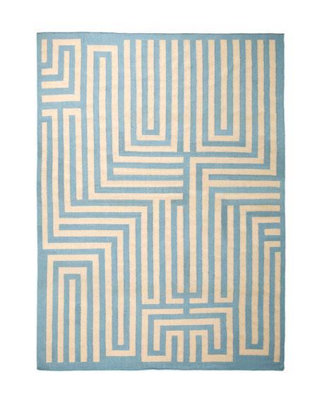 """""""Graphic Maze"""" Rug, 9'6"""" x 13'6"""""""