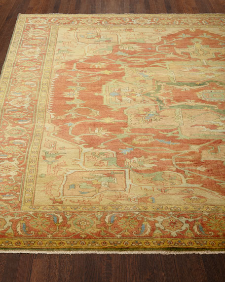 Exquisite Rugs Tribute Medallion Rug, 4' x 6'
