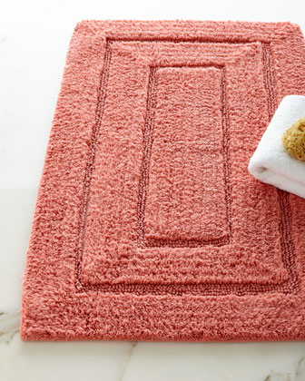 Tufted Cotton Bath Rug  20 x 32