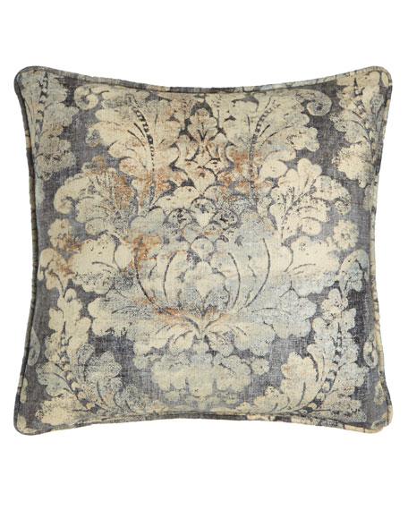 "18""Sq. Monterey Floral Pillow"