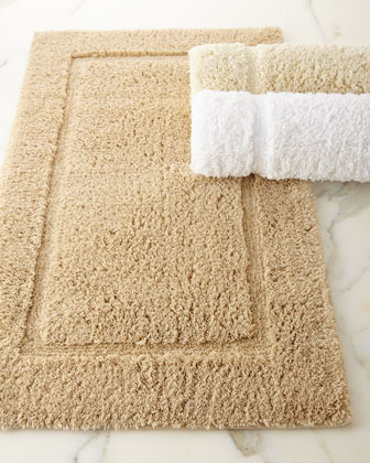 Marcus Collection Non-Slip Luxury Bath Rug  21 x 34