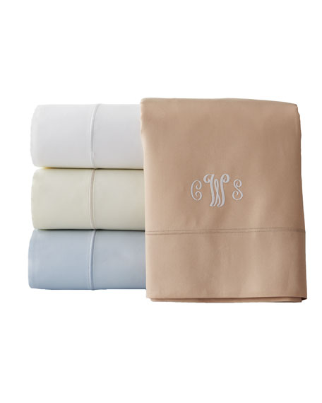 SFERRA California King Marcus Collection 400 Thread-Count Solid