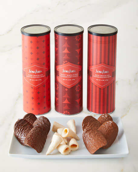 Neiman Marcus NM Chocolate-Coated Corn Twists & Potato