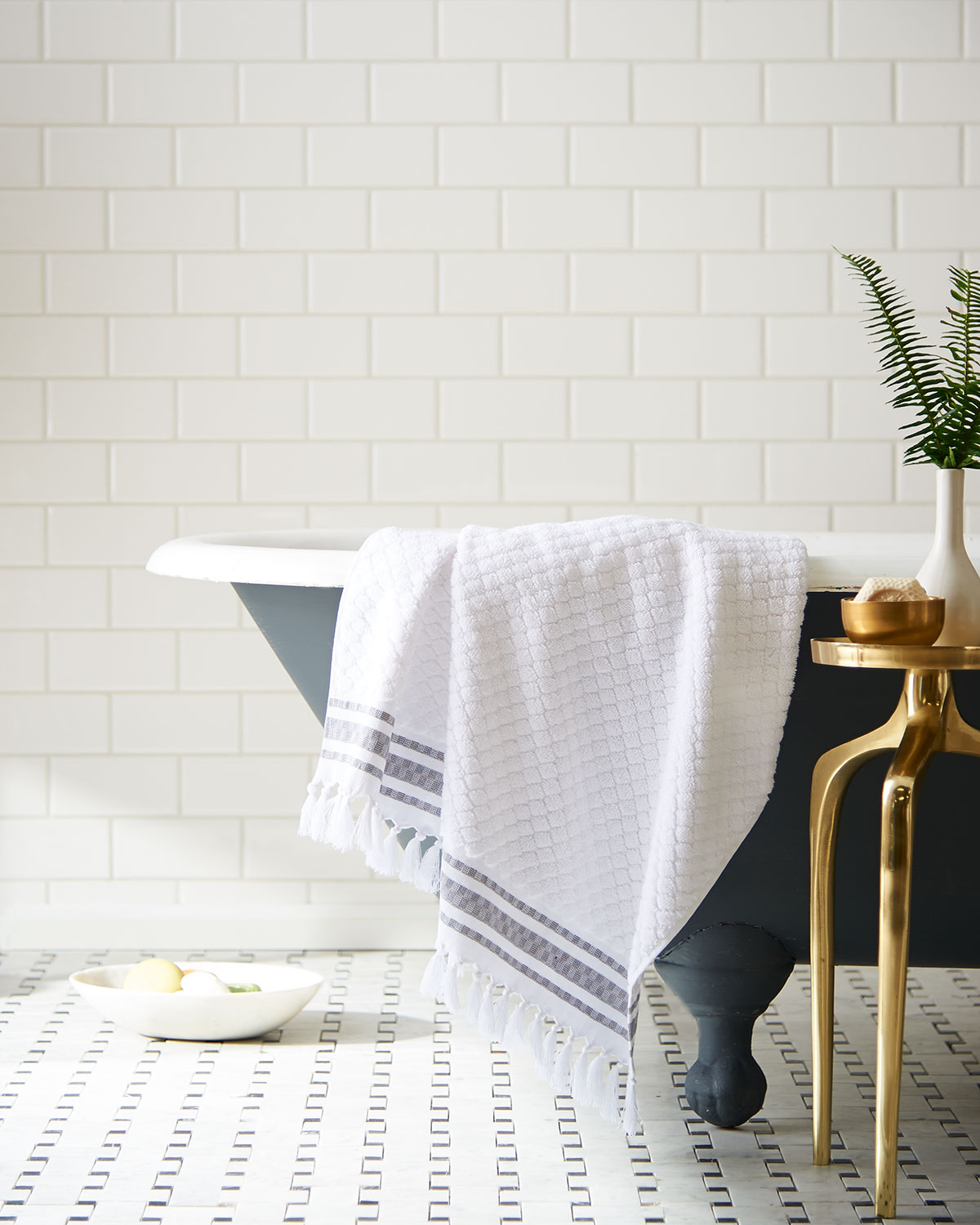 Luxury Bath D?cor: Towels, Accessories & More At Horchow