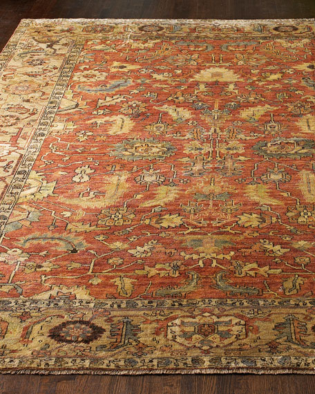 Exquisite Rugs Thompson Oushak Rug, 8' x 10'