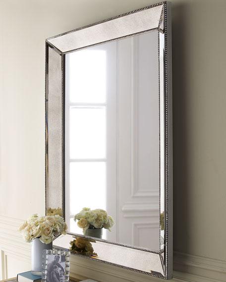 Beaded Wall Mirror, 36.5