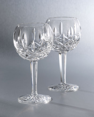 Lismore Crystal Wine Glass