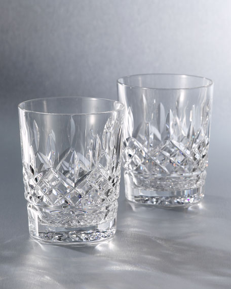 Waterford Crystal Quot Lismore Quot Crystal Double Old Fashioned