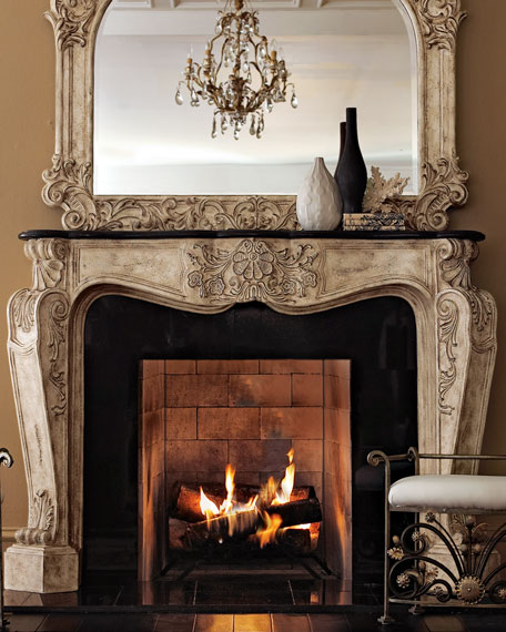 fireplace manels.  Ambella French Fireplace Mantel