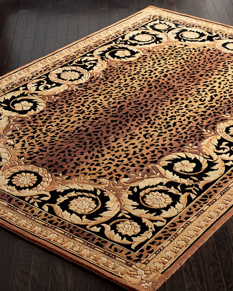 """Roman Leopard Rug, 9'6"""" x 13'6"""""""
